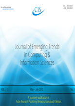 Journal of Computing and Information Sciences Thumbnail